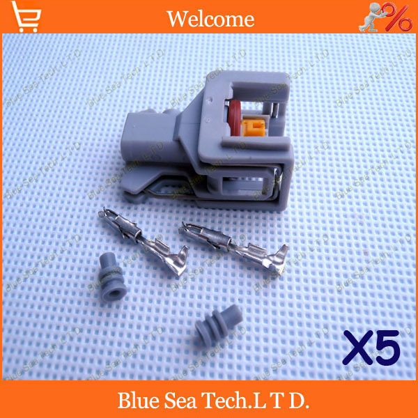 Sample,5 sets 2Pin Auto fuel spray nozzle/oil atomizer plug,Car Electrical plug for Delphi connector,Free Shipping<br><br>Aliexpress