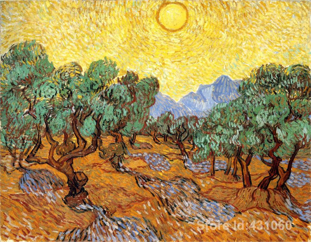 Impressionist Olive Trees PromotionAchetez des Impressionist Olive