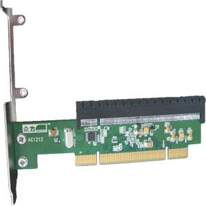 PCI To PCI-E Adapter Card , PCI 32 bits Convert PCI-E express 16X - 2 years warranty