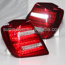 For GM Buick Forenza Lacetti Nubira Reno  LED Tail Lamp LED Rear Lights  2003-2007 year  Red Color(China (Mainland))