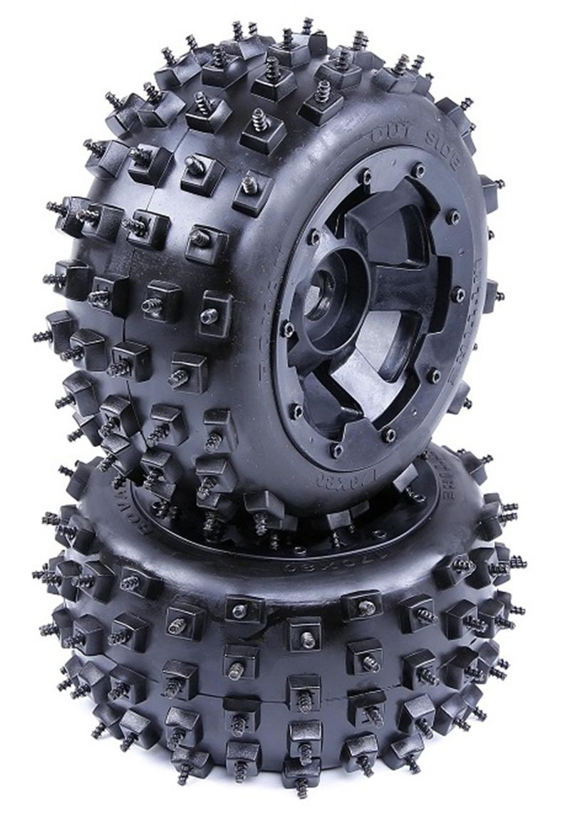 ROVAN 1/5 rc car Wasteland Nail Wheel Knobby Nail Fires Rear Tyre wheel Baja 5b HPI KM 5B ss parts