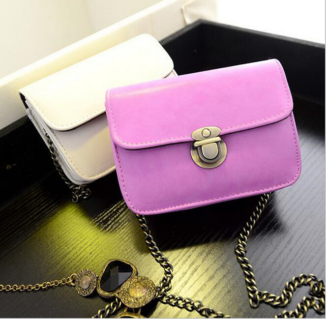 New Style Cheap Women Fashion Cosmetic Bag Fashion Chain Packet Shoulder Messenger Bag<br><br>Aliexpress