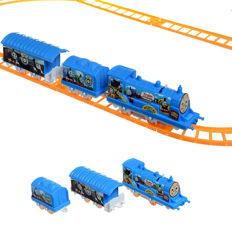 Electric Thomas Friends Train Railway Track Running DIY Set Intelligent Toy Fun For All AGES Gift Collection Free Shipping(China (Mainland))