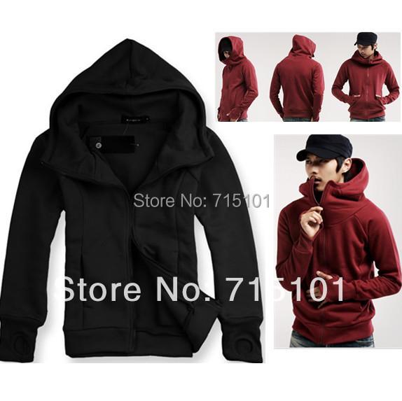 Spring Warm Fashion Sport Mens Hoodies Sweatshirt Fleece Long Sleeve Zipper Brand Designer Men M L XL XXL - BUYKIN HyperMarket By Your Side! store