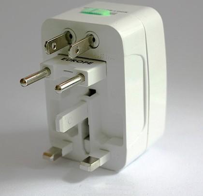 FreeShipping +tracking number 20PCS Universal conveter Travel Power AC Adapter Plug AU/UK/US/EU~ Rating 10A 250V(China (Mainland))