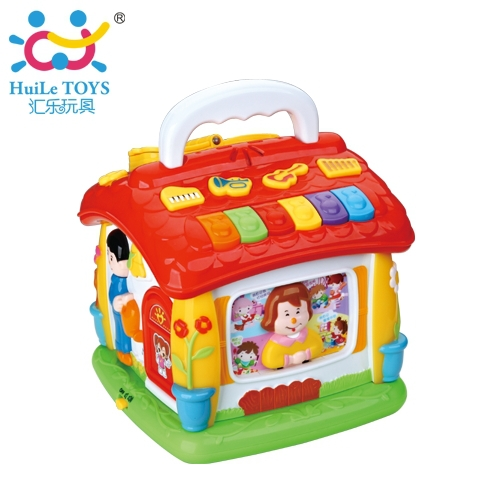Department of Music 656 intellectual enlightenment Clubhouse baby early childhood story machine baby infant Tong Yizhi toy boxes(China (Mainland))