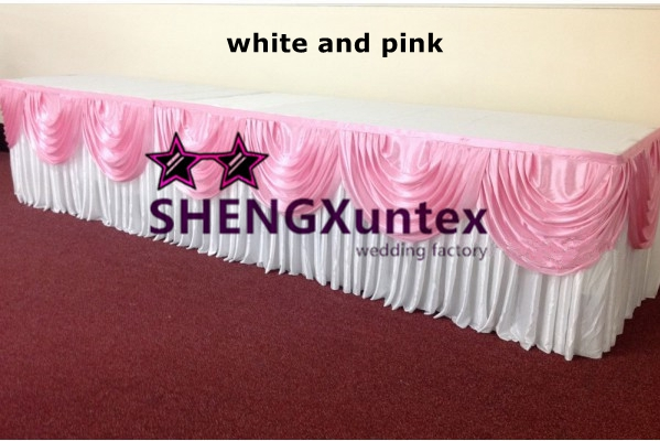 Baby pink top table swag-600x600