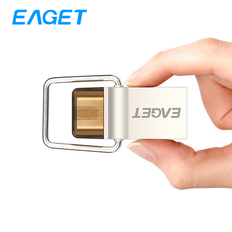 EAGET CU10 New Type-C USB3.0 Flash Drive Micro USB OTG Pendrive 64gb Smart Phone Pen Memory Portable U Disk - Eaget Storage Devices store