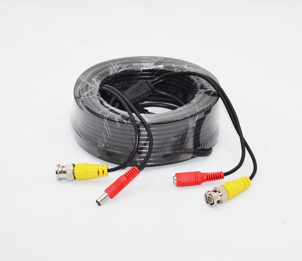 40M CCTV Camera DVR Video Power Security Surveillance BNC Cable Wire(China (Mainland))