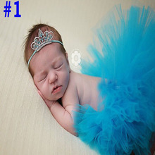 Hot Sale Newborn Tutu Skirts matching Baby Crown Flower Headbands Baby Photo props Outfits Christmas Halloween Costumes(China (Mainland))