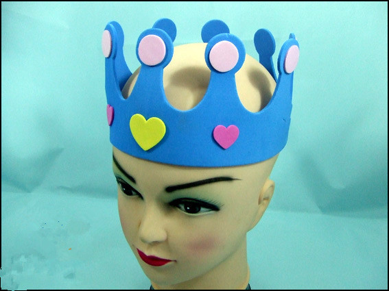 Birthday party crown Concert performance props, costume props Yule ball - Yiwu city Moteng handicraft factory store