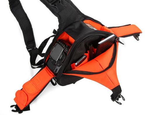 Waterproof Shoulder Bag Carry Case Backpack Travel Video Camera Bag for Canon Nikon Sony DSLR 600D 650D 700D D5300 D5200 D3300(China (Mainland))
