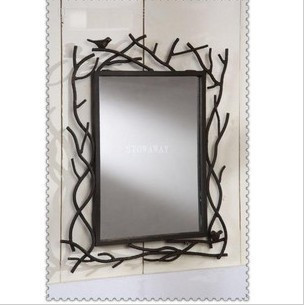 Tieyi tieyi mirror wall picture frame makeup mirror muons dressing mirror bathroom mirror(China (Mainland))