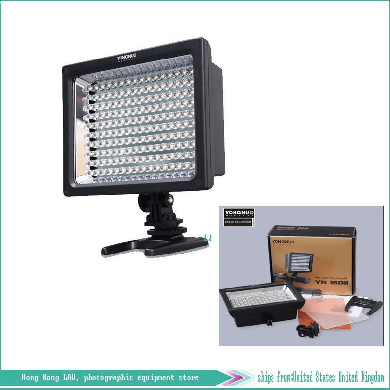 Photographic Lighting Yn-160s camera dv camcorder lamp led photography light lights up 160 led lighting(China (Mainland))