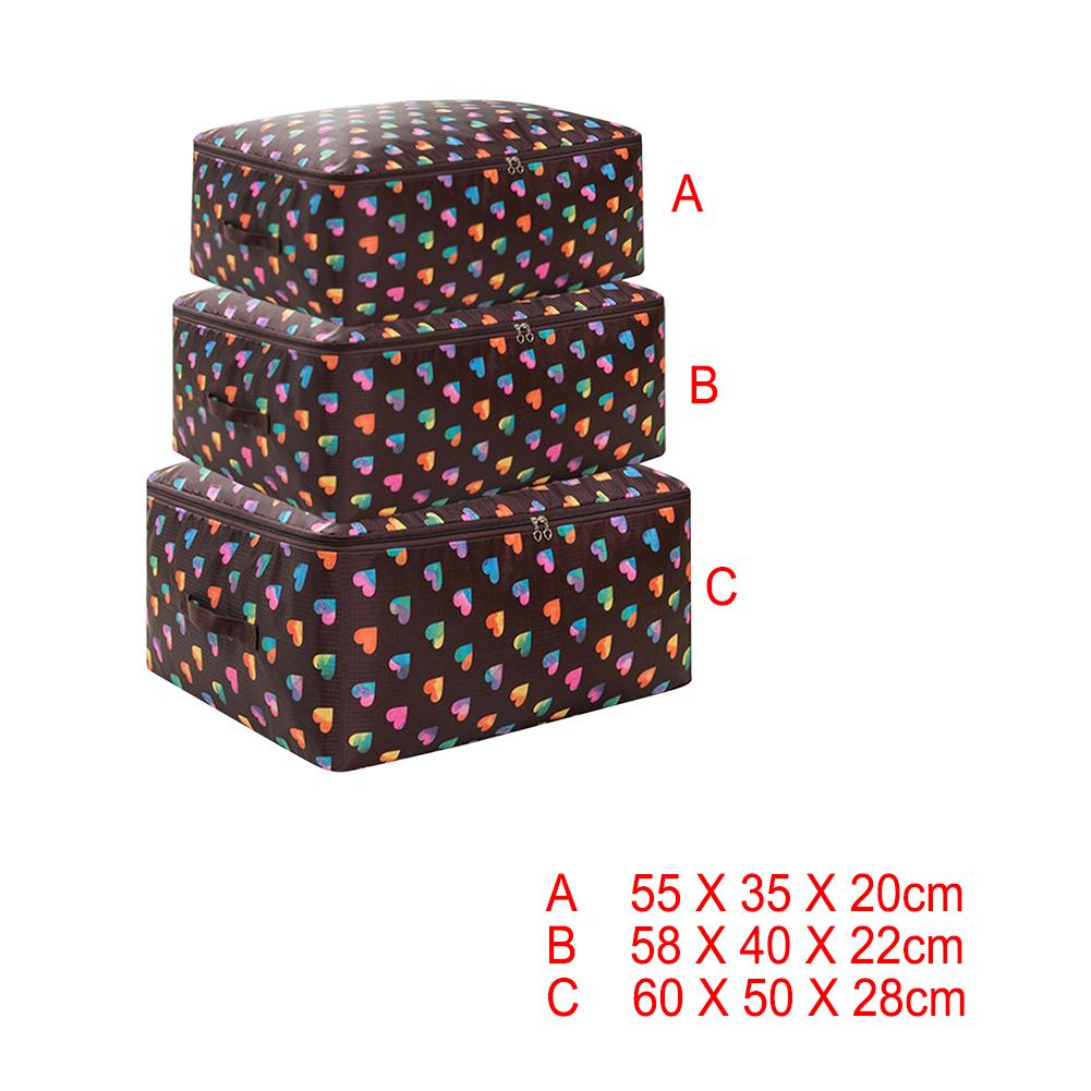 3 шт. сумка для одежды комплект хранения без запаха Oxford Тканевые путешествий aeProduct.getSubject()