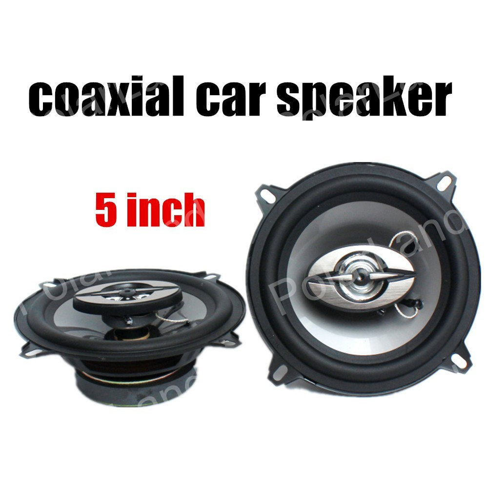 sound great 1 Pair 5 inch Coaxial Auto Car Speaker Automotive Car Audio stereo Speakers Free Shipping max music power 180W 12V(China (Mainland))