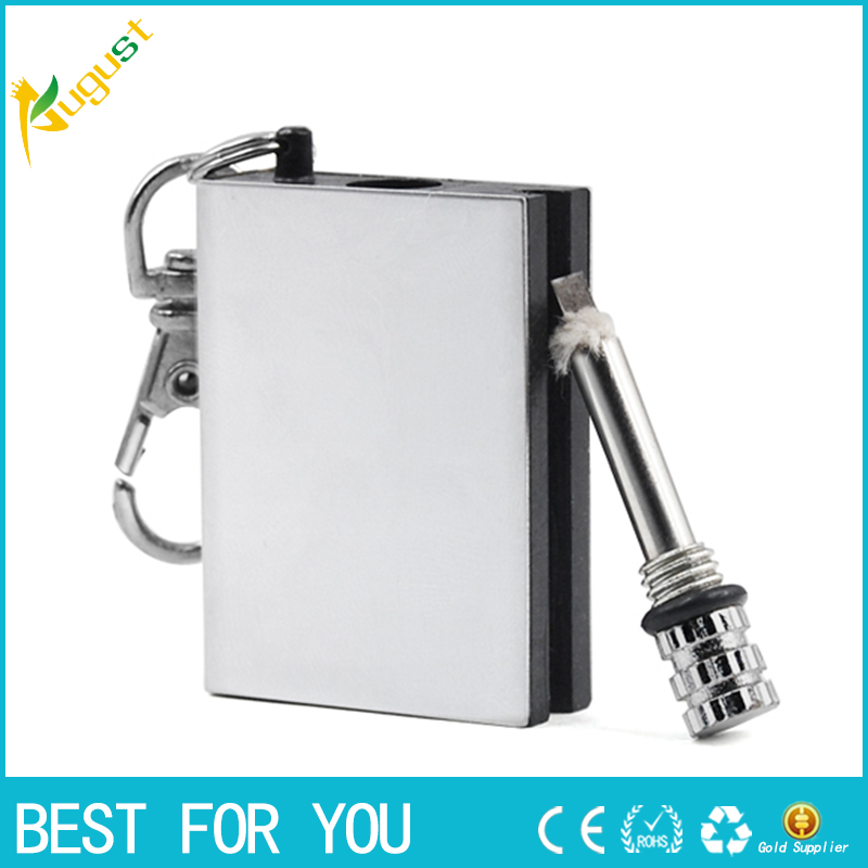 10pcs/lot military waterproof matches camping field free shipping + wholesale stainless steel matching millions of times(China (Mainland))