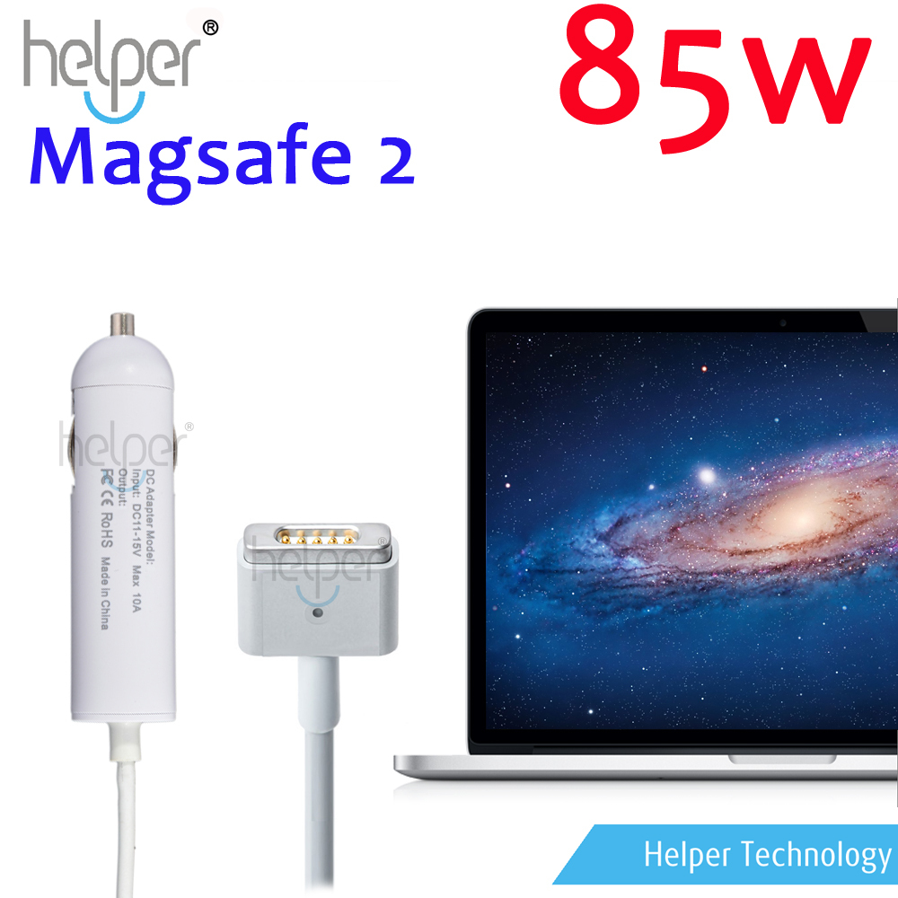 2015 Hot New Laptop Car Charger adapters for Apple MacBook Pro 15 Retina Magsafe2 85W DC Power Adapter A1398 A1424 MC975(China (Mainland))