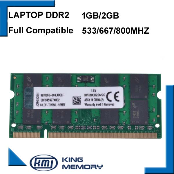 Laptop RAM DDR2 2GB 1GB 800MHz/667MHZ PC2 6400 53001G 2G notebook memory 200PIN original<br><br>Aliexpress