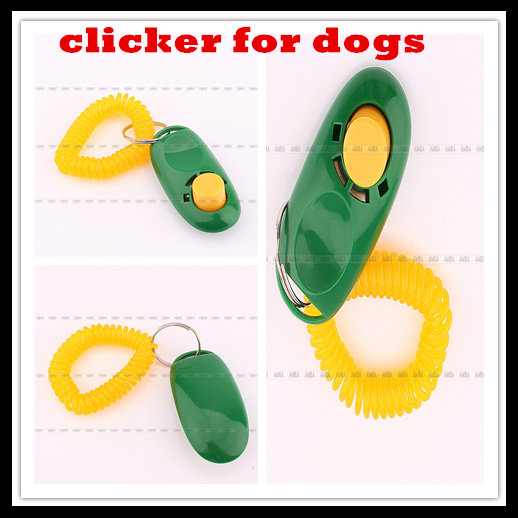 New Sale 1Pcs Cat Puppy Pet Training Clicker Clickers For Dog Training Aid Wrist Strap Free Shipping(China (Mainland))