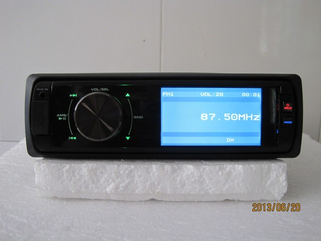 """One din 3"""" car dvd player,Slide Down Detachable Front Panel+bluetooth+AM+FM+mp3+mp4+aux in"""