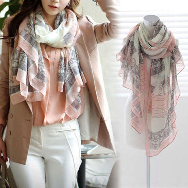 168 * 78 см высокое качество элегантный мода женщины длинные хлопка печать полиэстер шарфа шаль повелительниц большой шарфы 2016 горячей
