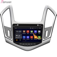 """8"""" Quad Core Android 5.1 Car Multimedia GPS For CRUZE 2013- For CHEVROLET With Radio Stereo Audio Mirror Link Free Shipping"""