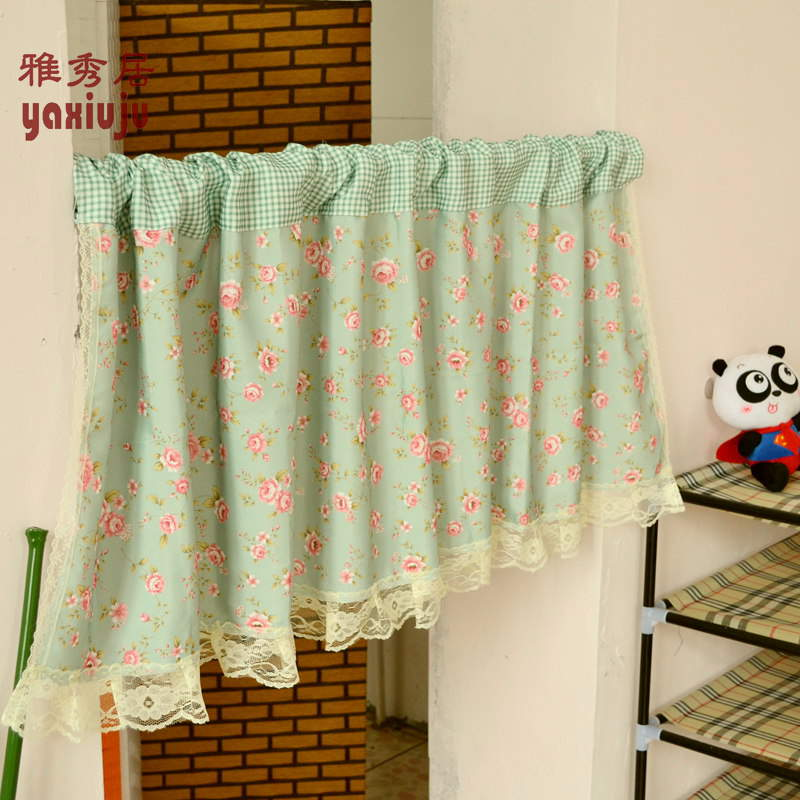Aliexpress.com : Buy Free Shipping Green Plaid Floral Lace
