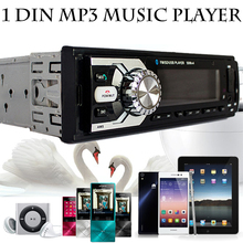 1 Din Coche Cars Audio In Dash SD Receiver stereo MP3 am/fm car radio usb players tuner AUX para carro autos automotivo no dvd