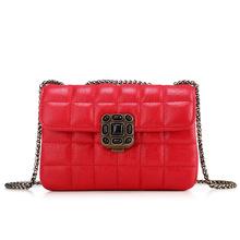2015 new fashion women messenger bags genuine leather cross body bag famous brand women s evening