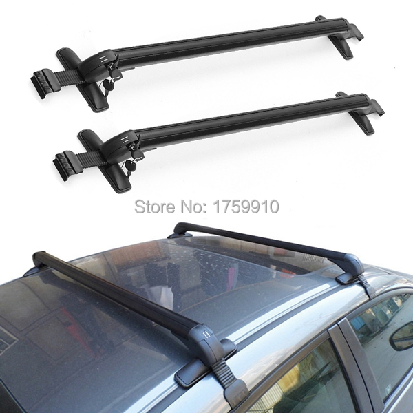 High Capacity Roof Racks Universal Anti Theft Car Roof Bars lockable Bars For Cars Without RAILS Rack NEW(China (Mainland))
