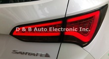 [ Free Shipping ] New Arrived Hyundai Santafe (IX45) 2012'-UP Led Tail Lamps Rear Lights Tail Lights For Wholesale & Retail(China (Mainland))
