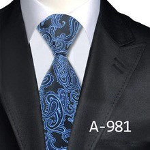 2016 Man's Fashion Accessories Paisley Tie Classic Silk Neck Tie Business Neckties 8.5th Width Free Shipping(China (Mainland))