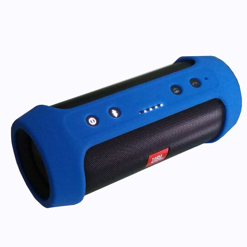 For JBL Charge2+Protective Case Cover Portable Soft Silicone Holster Bluetooth Speaker Shockproof Waterproof Protective Sleeve