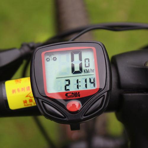 Waterproof LCD Odometer Bike Computer Bicycle Speedometer(China (Mainland))