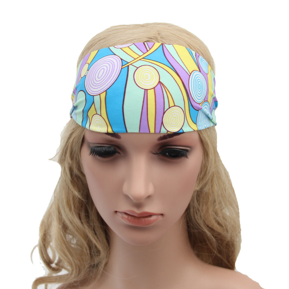 hair accessories 2016 sales Wide Headband Running Headband Womens Hair Accessories Headwrap Nonslip Head bands barrette*1(China (Mainland))