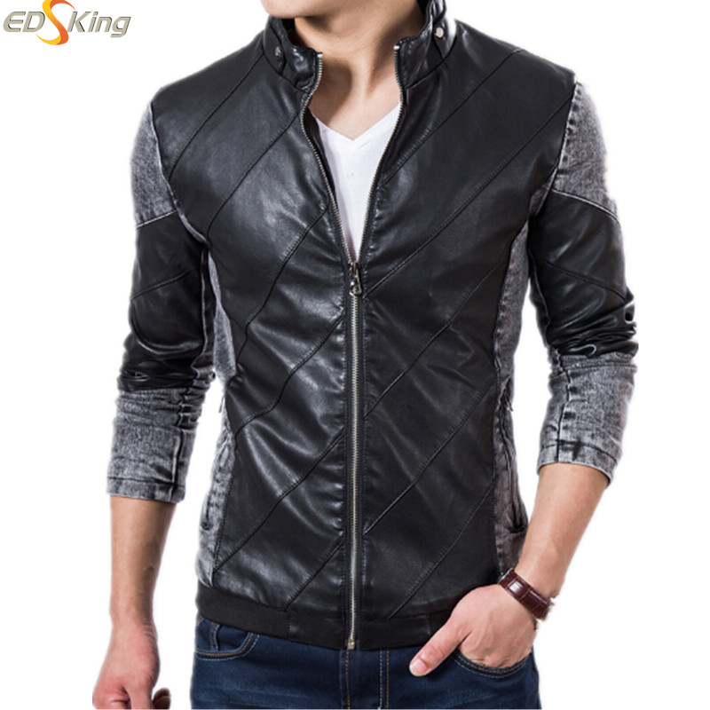 2015 Quality New Autumn & Winter Jean Jacket Brand Men Casual Denim Baseball Jacket For Man Outdoors Coat Clothes Sport(China (Mainland))