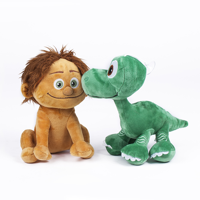 The Good Dinosaur 2016 New Pixar Movie Spot Dinosaur Arlo Plush Doll Stuffed Toy 22CM 1pcs have stock(China (Mainland))