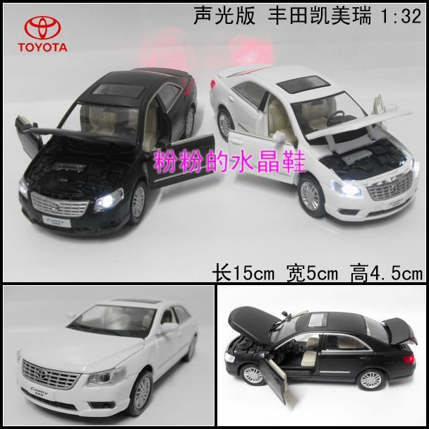 WARRIOR plain alloy TOYOTA camry toyota artificial car model toy car