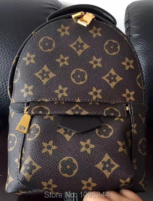 Paris IT multi lady luxury Mini US new arrive original casual print genuine leather purse men women bags Backpacks tote shoulder(China (Mainland))