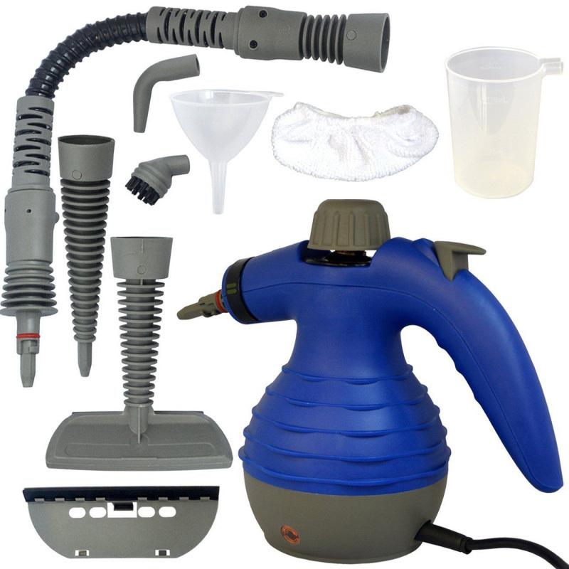 Steam Cleaner 220~240V Multi Purpose Handheld Electric Portable Steamer Machine Home Auto Carpet + EU plug convertor U0019(China (Mainland))