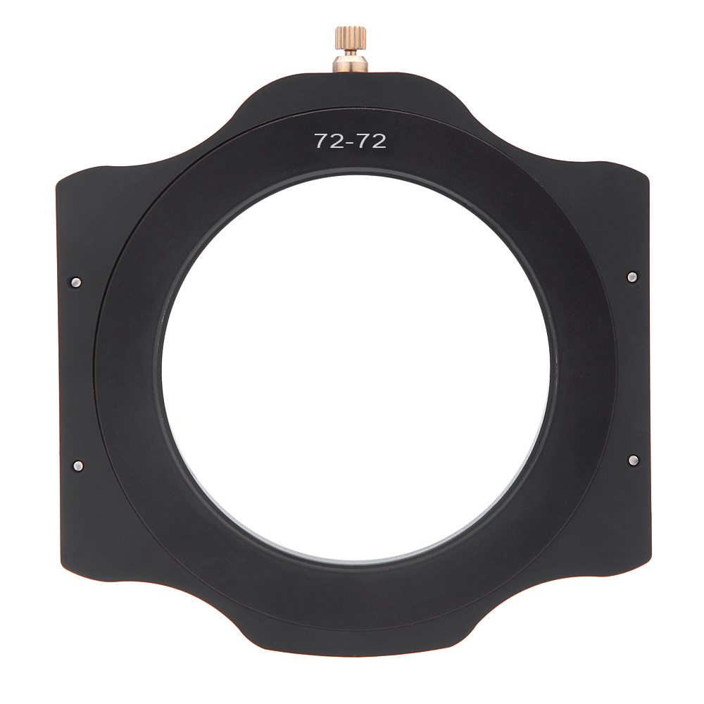 High-quality 72mm Filter Adapter Ring+100mm Square Filter Holder All Metal for Lee Hitech Singh-Ray Cokin Z Series Filter(China (Mainland))