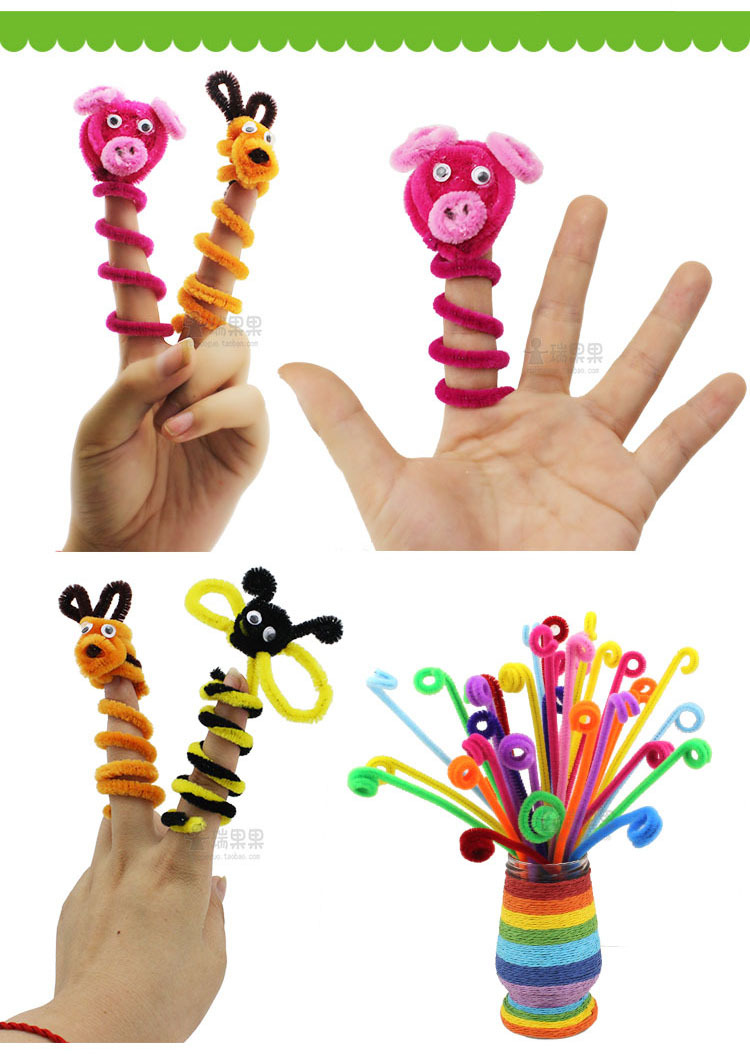 Art Toys For Boys : Pcs set children s educational toys diy materials