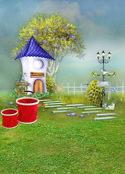 600CM*300CM backgrounds Twisted deformation house bright alphabetical foreign cartoon cute t photography backdrops photo LK 1009<br><br>Aliexpress