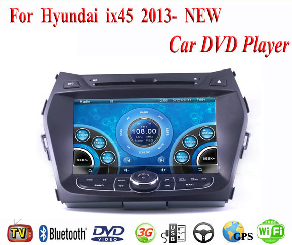 Автомобильный DVD плеер 1 DVD/hyundai ix45 DVD GPS 3G WiFi Bluetooth автомобильный dvd плеер spy mazda 2 demio automotivo dvd gps