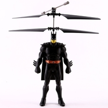 Flying Batman Electric Suspension Toys Battery Operated Induaction Suspension induction helicopter Infrared sensor aircraft