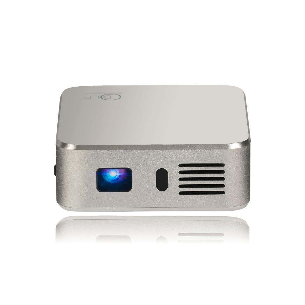 Android 4.4 DLP pico projector E05 smartphone quad-core processor Smart HD 1080p RAM 1G ROM 8G WIFi 2.4G/5G Mini LED Projector