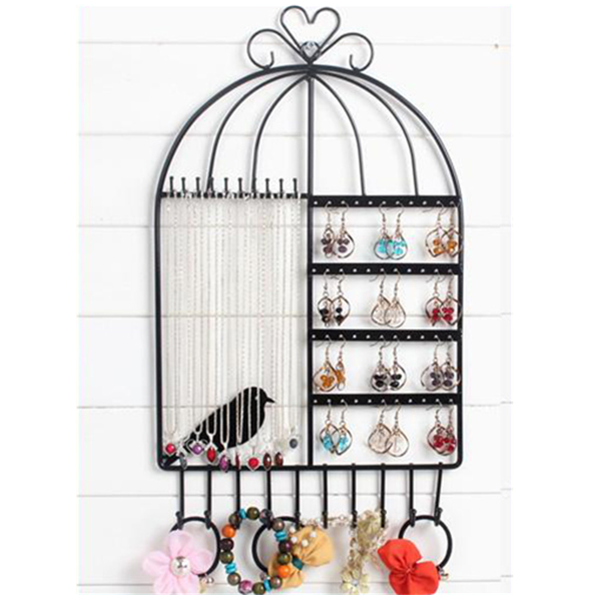 Popular bird cage hanger buy cheap bird cage hanger lots for Arbre a bijoux mural