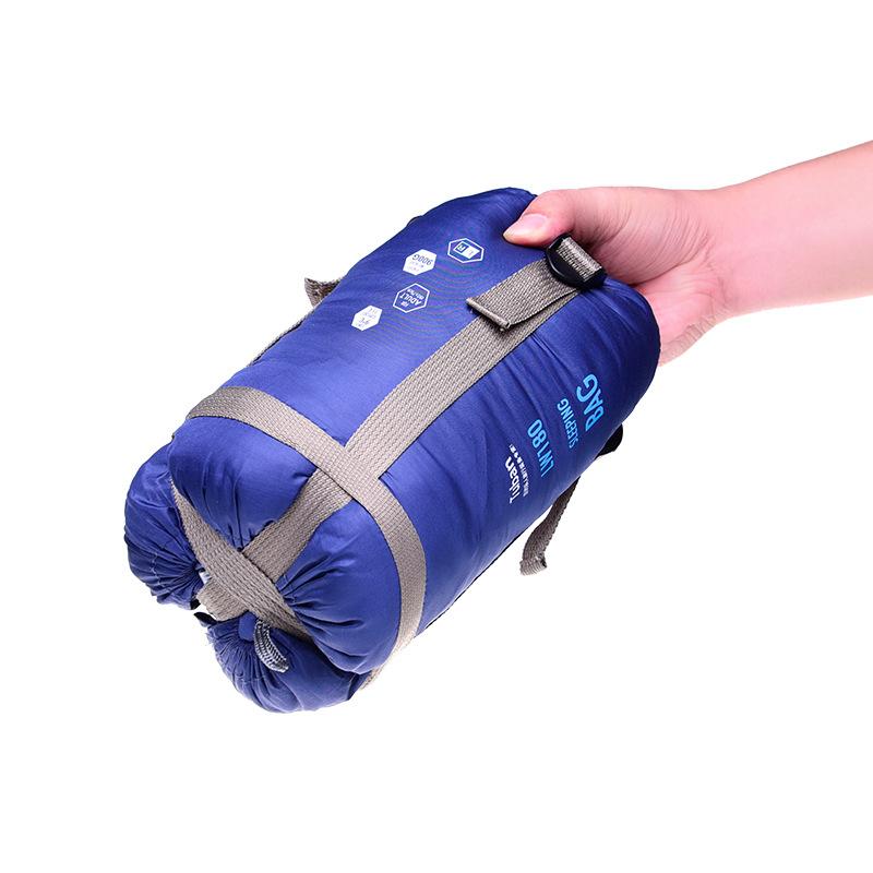 Autumn and winter big camping sleeping bag outdoor ultralight portable adult waterproof envelope type keep warm(China (Mainland))