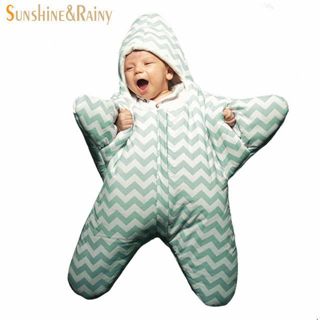 Новый детские спальный мешок ребенка морская звезда спальный мешок новорожденных ...